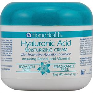 Home Health Hyaluronic Acid Moisturizing Cream with Restorative Hydration Complex