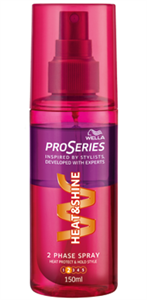 Wella Pro Series Heat & Shine Spray