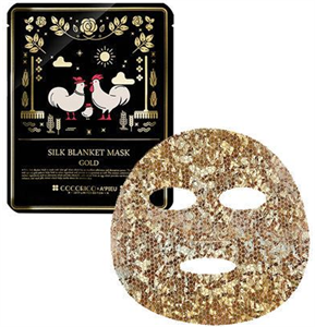 A'PIEU Cocorico Silk Blanket Mask - Gold