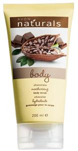 Avon Naturals Chocolate Hidratáló Testradír (régi)