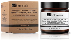 br Botanicals Intelligent Tea Tree And Jojoba Superfood Hidratáló Arckrém