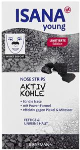 Isana Young Aktiv Kohle Nose Strips