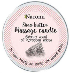 Nacomi Testbalzsam Gyertyában/Masszázsgyertya - Marokkói Fűszerek