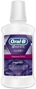 Oral-B 3D White Luxe Glamorous White Fresh Mint Szájvíz