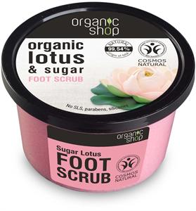 "Organic Shop ""Édes Lótuszvirág"" Cukros lábradír"