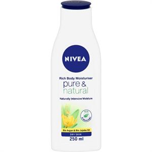 Nivea Pure&Natural Testápoló Tej