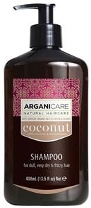 Arganicare Coconut Sampon Nehezen Fésülhető Hajra