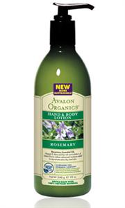 Avalon Organics Rozmaring Testápoló