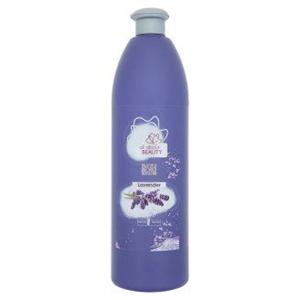 All about Beauty Natural Beauty Bath Foam Lavender Levendula Illatú Habfürdő