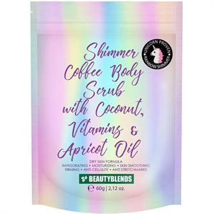 Beautyblends Shimmer Coffee Body Scrub