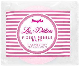Douglas Les Délices Fizzer Pebble Bath Raspberry Macaroon