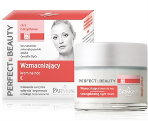 Farmona Perfect Beauty Capillary Skin Strengthening Night Cream