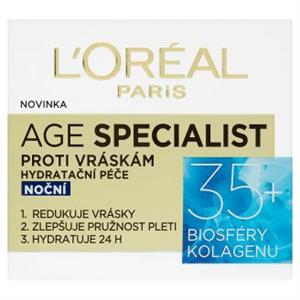 L'Oréal Age Specialist 35+ Ránctalanító Hidratáló Éjszakai Arcápoló