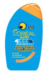 L'Oreal Kids Swim & Sport Sunny Orange Sampon