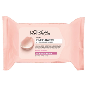 L'Oreal Paris Fine Flowers  Cleansing Wipes