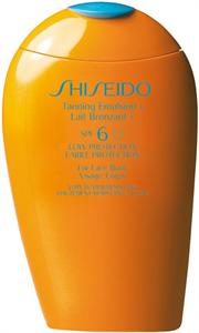 Shiseido Sun Care Tanning Emulsion SPF6
