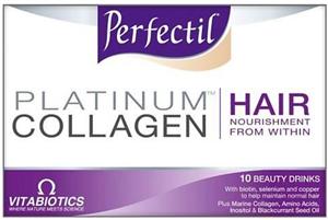 Vitabiotics Perfectil Platinum Collagen for Hair