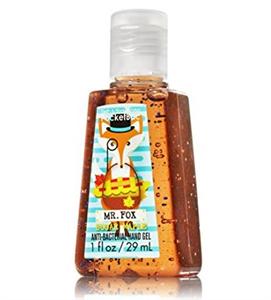 Bath & Body Works PocketBac Mr. Fox Sugar Maple Anti-Bacterial Hand Gel