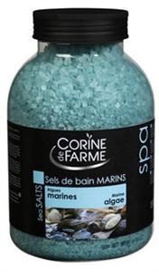 Corine De Farme Tengeri Algás Nyugtató Fürdősó