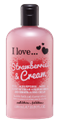 I Love... Strawberries & Cream Hab- és Tusfürdő
