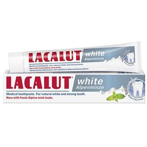 Lacalut White Alpenminze Fehérítő Hatású Fogkrém