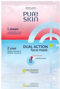 Oriflame Pure Skin Dual Action Kettős Hatású Arcmaszk