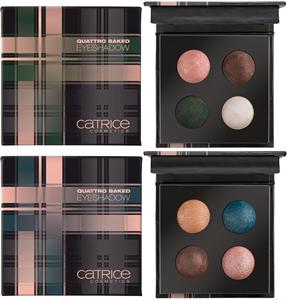 Catrice Check&Tweed Quattro Baked Eyeshadow