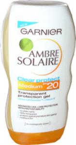 Garnier Ambre Solarie Clear Protect Napozó Zselé SPF20