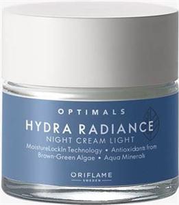 Oriflame Optimals Hydra Radiance Light Éjszakai Krém