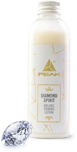 Peak Diamond Spirit Organic Firming Lotion 100% Természetes Csillámos Krémtusfürdő