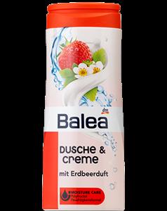Balea Dusche & Creme Mit Erdbeerduft