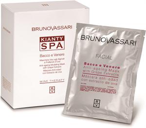 Bruno Vassari Kianty Spa Bacco e Venere Anti-Ageing Mask