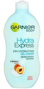 Garnier Hydra Express Nyugtató Testápoló Krémzselé Száraz Bőrre