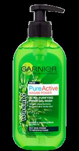 Garnier Pure Active Wasabi Power Arctisztító Gél