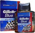 Gillette Blue After Shave Splash Storm Force