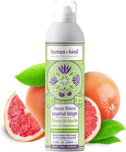 Human + Kind Shower Mousse Bodywash Grapefruit Delight