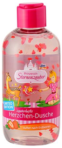 Prinzessin Sternenzauber Varázslatos Szivecskés Tusfürdő Eper Illattal