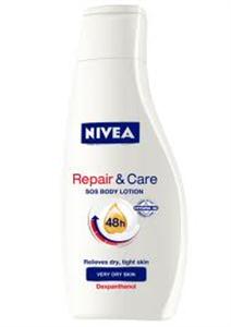 Nivea Repair & Care SOS Regeneráló Testápoló