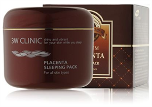 3W Clinic Placenta Sleeping Pack