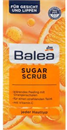 Balea Sugar Scrub Tisztító Arc- és Ajakradír Narancshéjjal és C-Vitaminnal