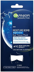 Garnier Moisture Bomb Night Time Eye Tissue Mask