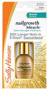 Sally Hansen Nailgrowth Miracle Salon Strengthening Treatment