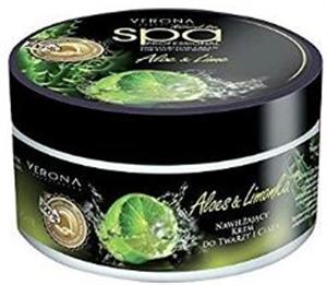 Verona Natural Line Spa Professional Aloe & Lime Kivonatot Tartalmazó Hidratáló és Bőrregeneráló Éjszakai Krém