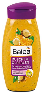 Balea Dusche & Ölperlen Tusfürdő Makadámdió és Méz Ilattal