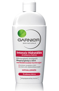 Garnier Intensive Care Sensitive Skin Testápoló