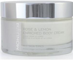 Monu Spa Rose & Lemon Enriched Body Cream
