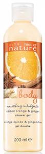 Avon Naturals Fűszeres Narancs és Gyömbér Tusfürdő
