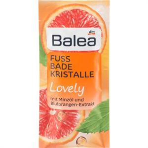 Balea Lovely Lábfürdősó Mentaolajjal és Vérnarancs Kivonattal