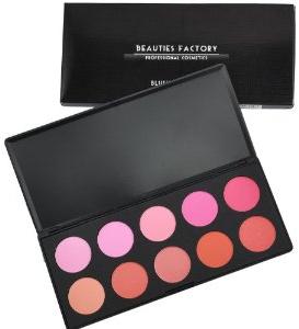 Beauties Factory 10 Színű Pirosító Paletta