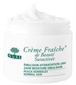 Nuxe Crème Fraîche 24 Órás Nyugtató és Hidratáló Krém Normál Bőrre